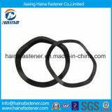 Arandela plateada cinc negro de la onda del acero de carbón DIN137