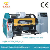 Plástico BOPP, PP, Pet, PE, PVC Film Slitting Line Machine
