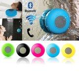 Suporte de subwoofer portátil Bts06 Shower Waterproof Wireless Bluetooth Speaker Car Handsfree Receba uma chamada de música com sucção com microfone