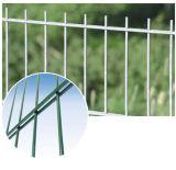 Treillis métallique soudé par qualité de l'acier 656 enduits de poudre double (XMM-WM1)