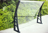 Luifel van de Tuin van het Polycarbonaat DIY van Hotsale de Openlucht met Plastic Steunen (yy1000-B)