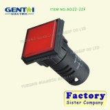 A cor vermelha Ad22-22f Lâmpada Indicadora
