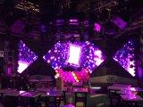 Afficheur LED polychrome d'intérieur de la qualité P7.62