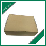 Fabricante plegable flauta corrugado Kraft caja de papel corrugado