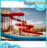 Glissade d'eau de fibre de verre, pour parc aquatique, Parc d'attractions