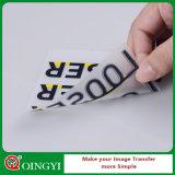 Autoadesivo di stampa di scambio di calore di alta qualità di Qingyi per la maglietta