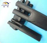 Черный цвет Cross-Linked Полиолефиновых Кабель коммутационного бокса бутсы для Разветвитель кабеля