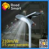 Уличный фонарь силы СИД IP65 210lm/W солнечный напольный