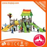Campo de jogos ao ar livre plástico do projeto da forma ajustado para miúdos