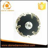 """5 """" 125mm 분단된 작은 다이아몬드 안내장은 톱날 절단 디스크를"""