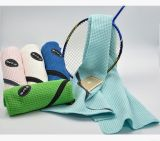 Toalla de Zipple del golf de la galleta de la toalla del deporte de la red de la piña