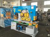 Q35yの組合せの出版物ブレーキおよびせん断の鉄工機械多機能の電気新しい油圧鉄工機械