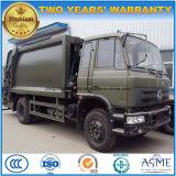 Dongfeng 180 roues de la HP 6 15 tonnes d'ordures de camion de compresse camion d'ordures de compacteur de 15 T
