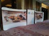 Торговая выставка хлопает вверх торговая выставка знамени индикации стойки