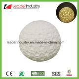 Nuova sfera di ceramica bianca con colore che cambia l'indicatore luminoso del LED per la decorazione domestica