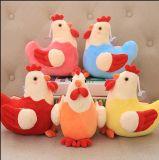 귀여운 채워진 닭 견면 벨벳 인형 장난감