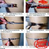 Tipo fascette ferma-cavo del cricco dell'acciaio inossidabile