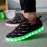 유성 남자와 여자 LED 가벼운 운동화