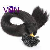 A alta qualidade V-Derruba a extensão natural do cabelo do Virgin humano brasileiro