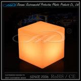 Mobília iluminada diodo emissor de luz do assento do cubo para a barra