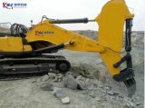 Excavatrice zax450 Rock de la rampe d'Hitachi