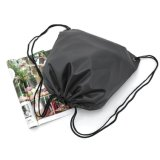 Comercio al por mayor 210D, 190t Drawstring Backpack