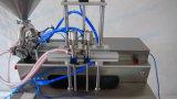 Semi-Automatic Two Nozzle Cream Filler com mesa de trabalho (FLC-250S)
