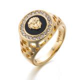 De Ring van de Zilveren en Gouden CZ van het Bergkristal van VAGULA Vrouwen van de Manier