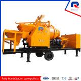 Caminhão de mistura concreto da bomba da manufatura da polia com Batcher (JBC40-P)