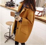 方法安い女性長い羊毛のコート