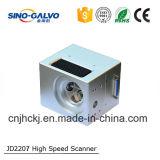 laser di Galvo dell'apertura Jd2207 di 12mm per i jeans con il certificato