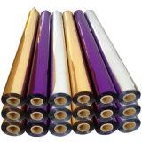 Folha de carimbo quente metálica Roll&#160 padrão do papel de transferência térmica;  640mm X película de 120m
