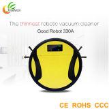 世帯のロボティック洗剤6cm最も薄いSmartphone APPの制御された乾湿両方の掃除機