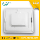 Qualité 16W DEL carrée Downlight
