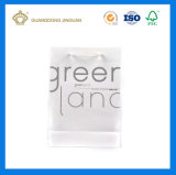Envases cosméticos bolsa de papel con asa de algodón blanco mate (acabado)