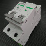 2p CC Disyuntor Disyuntor miniatura polarizada DC no con TUV Certificados de 1A a 63A