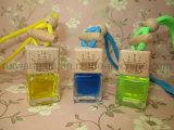 Стеклянные бутылки парфюмерных изделий для автомобильной освежитель воздуха, освежитель воздуха с логотипом вашей компании