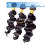 Armadura peruana del pelo de la Virgen de la Virgen del grado de Aaaaaa (KBL-pH-LW)