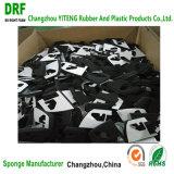 Incombustible impermeable de celda cerrada de espuma de neopreno negro CR