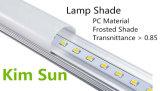 Muestra libre de la luz del tubo de cristal de T8 9W LED disponible