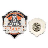 Distintivo di Pin del risvolto dello smalto personalizzato commercio all'ingrosso