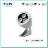projector pequeno do diodo emissor de luz da luz de inundação da microplaqueta 100W do diodo emissor de luz de Epistar do projector da potência 3With9W
