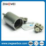 caja de engranajes del metal de la desfibradora 3V de 10m m pequeña