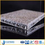 Leve os painéis de favo de granito de fibra de vidro para Decoração de parede exterior