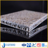 Panneaux légers de nid d'abeilles de granit de fibre de verre pour la décoration extérieure de mur