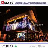 Panneau extérieur d'intérieur transparent/en verre/guichet DEL/signe/mur/écran de visualisation visuels P5-8