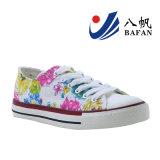 Chaussures de toile supérieures de femmes de Fabrice de fleur Bf1610219