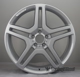 колесо 5X112 серебристое Amg снабжает ободком 20 дюймов для всего автомобиля