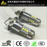 12V 80W 60W LED 차 빛 고성능 LED 자동 안개 램프 헤드라이트 With20 T10 H1h3 H4 9005 9006 가벼운 소켓 크리 사람 Xbd 코어