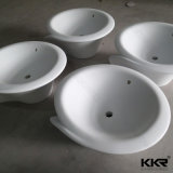Nouveau design Sanitary Ware Acrylique Solid Surface Wall Hung Basin